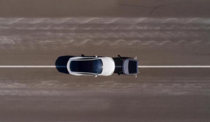drone car photo