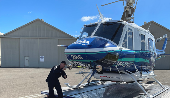 NRMA helicopter