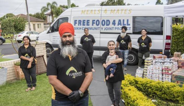 Turbans 4 Australia volunteers